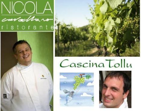 Serata con Cascina Tollu da Nicola Cavallaro